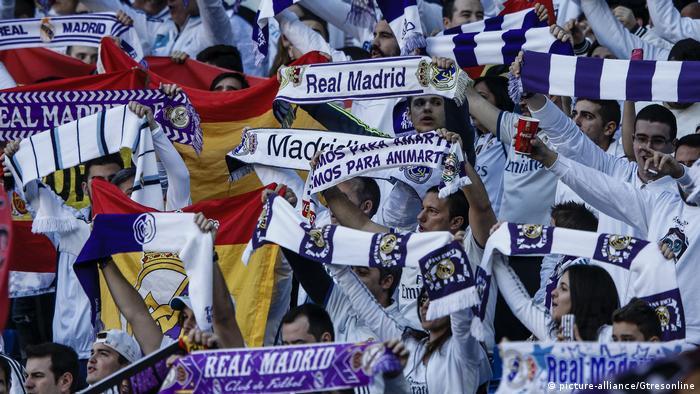 Fußball Fans Real Madrid