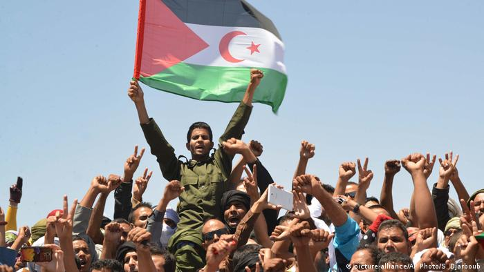 Algerien Westsahara Polisario (picture-alliance/AP Photo/S. Djarboub)