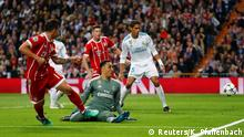 Fußball Champions League FC Bayern - Real Madrid