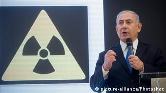 Tel Aviv Netanjahu PK Iran Atomprogramm (picture alliance / Photoshot)