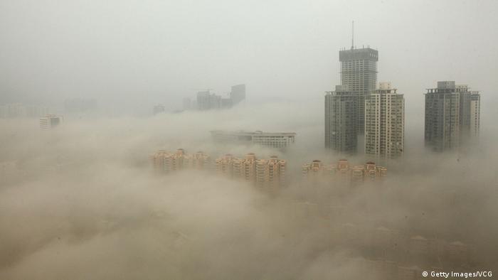 Çin'in Lianyungang kentinden bir kare