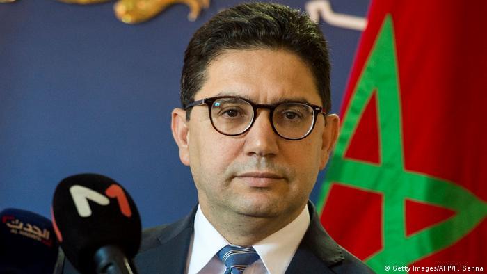 وزير الخارجية المغربية ناصر بوريطة
