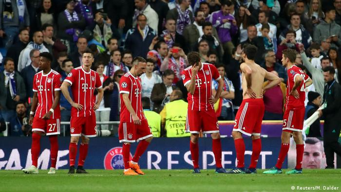 Champions League Real Madrid v Bayern München (Reuters/M. Dalder)