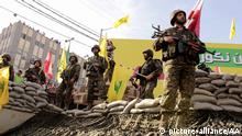Libanon 15. Jahrestag Abzug Israel Hisbollah Kämpfer