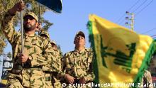 Libanon Hisbollah Kämpfer