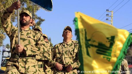 Libanon Hisbollah Kämpfer (picture-alliance/AP Photo/M. Zaatari)