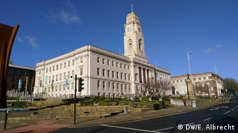 Το δημαρχείο του Μπάρνσλεϊ - σχεδόν 70% των κατοίκων του είχε ψηφίσει υπέρ του Brexit