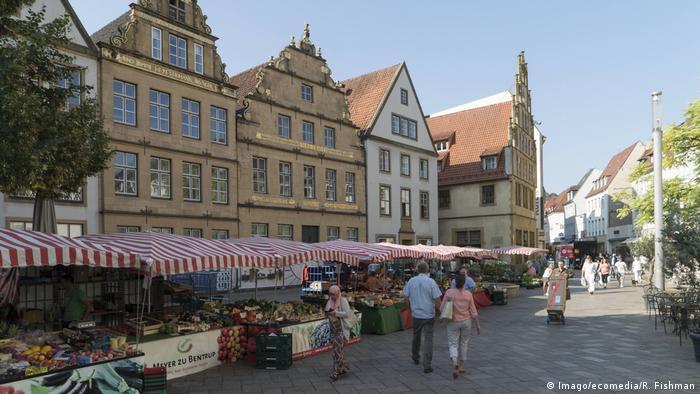 Alter Markt square in Bielefeld