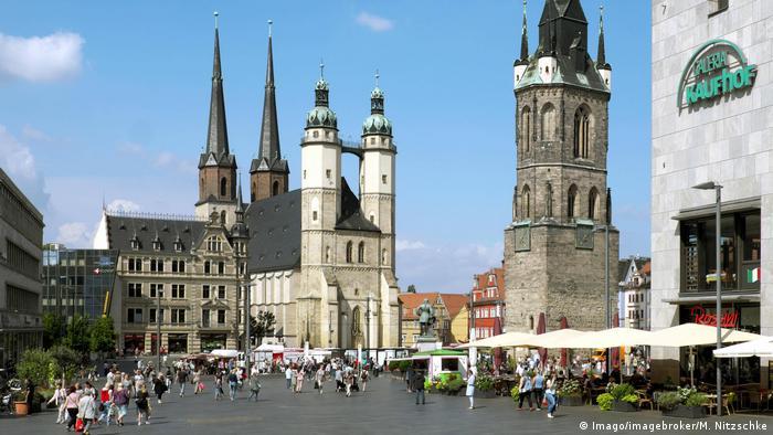 BG 10 gastfreundlichste Städte Halle an der Saale (Imago/imagebroker/M. Nitzschke)