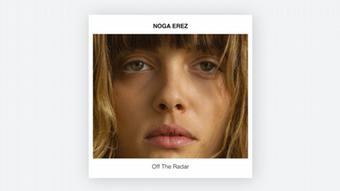 CD Cover of Noga Erez's Off The Radar
