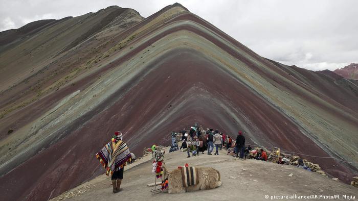 Regenbogen-Berge in Peru