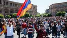 Armenien Opposition Protest in Jerewan