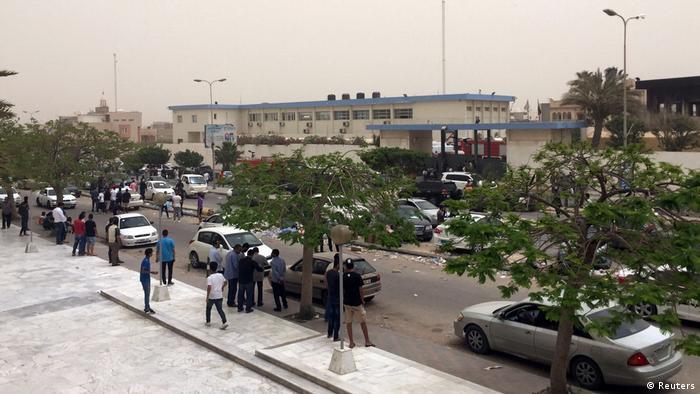12 die in raid on Libyan electoral commission