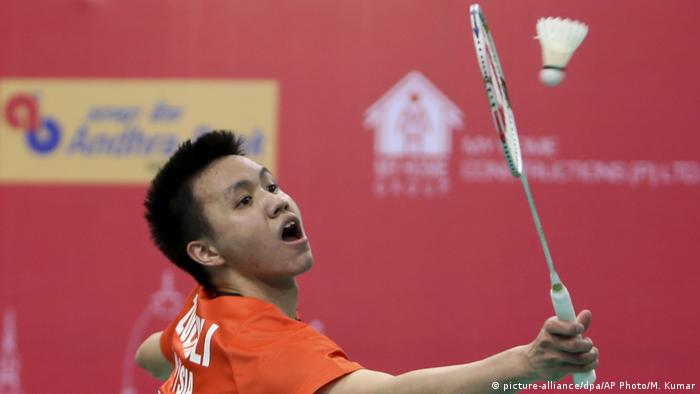 Badminton Spieler | Zulfadli Zulkiffli (picture-alliance/dpa/AP Photo/M. Kumar)