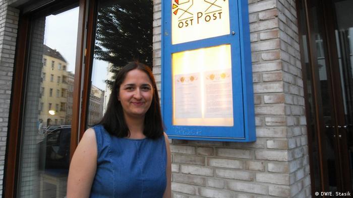 """Inicjatorka cyklu """"Lektury"""" Natalia Staszczak-Prüfer (DW/E. Stasik)"""