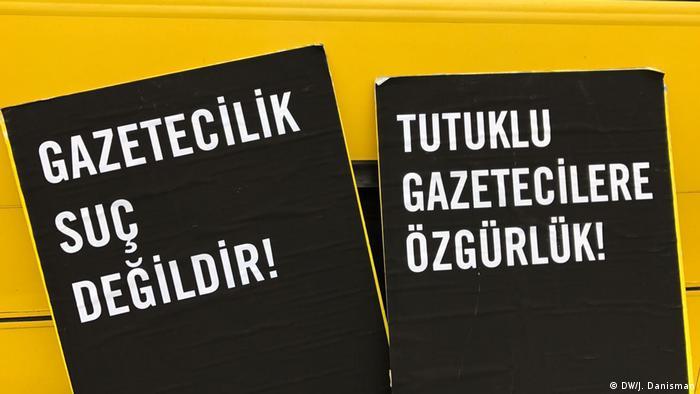 Demo für Pressefreiheit in der Türkei in Berlin