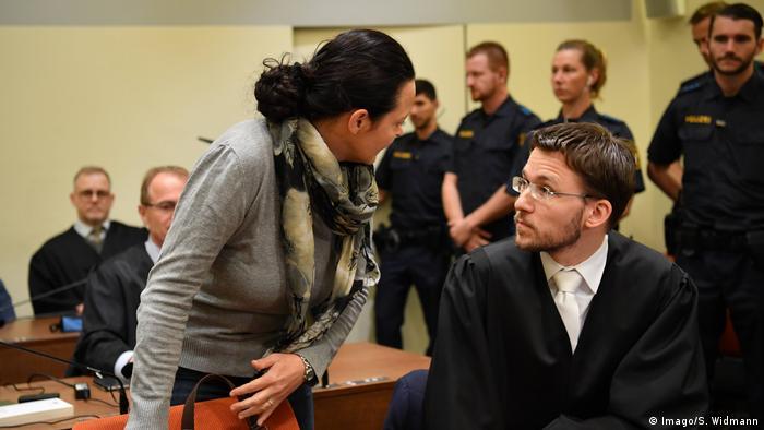 Beate Zschäpe, defendant in the Neo-Nazi NSU murder trial