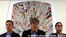 Italien Chilenische Missbrauchsopfer treffen Papst im Vatikan