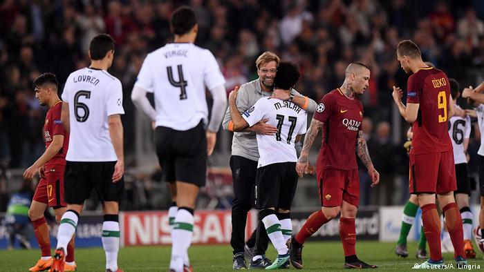 UEFA Champions League Halbfinale | AS Rom - FC Liverpool -Spielende