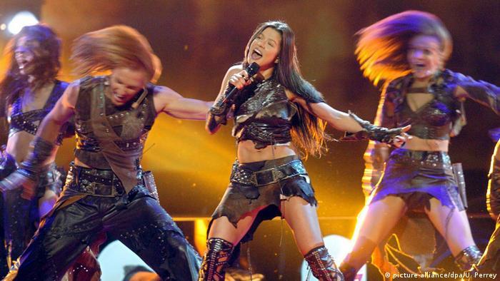 Дикі танці Руслани на Євробаченні-2004