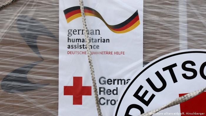 Symbolbild das Deutsche Rote Kreuz in Afrika (picture-alliance/dpa/R. Hirschberger)