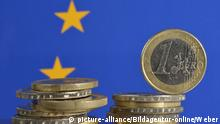 Symbolbild 1 Euro Münzen