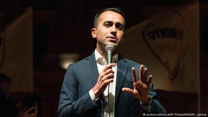 Luigi Di Maio, leader of M5S
