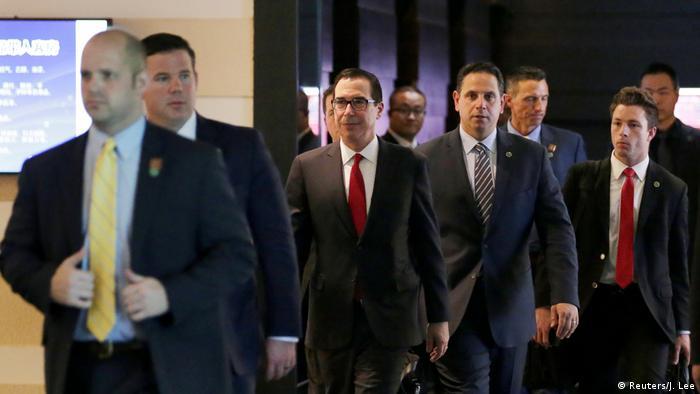 China Peking - US Delegation in Peking zum Handelsstreit (Reuters/J. Lee)