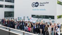DW Tag der Pressefreiheit 2018. Foto: Philipp Böll / DW am 2.5.2018 in Bonn.
