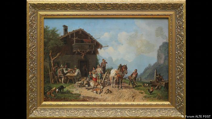 После охоты, Генрих Бюркель