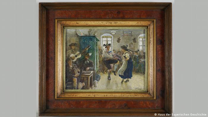 Баварский танец, Губерт фон Гекомер