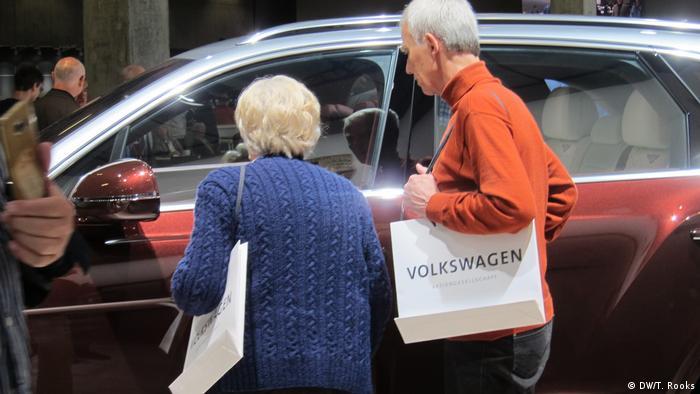 VW Hauptversammlung in Berlin