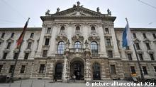 ARCHIV - Das Hauptgebäude des Oberlandesgerichts München in der Prielmayerstraße in München (Bayern) am 02.04.2013. Foto: Inga Kjer/dpa +++(c) dpa - Bildfunk+++   Verwendung weltweit