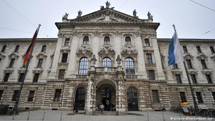 مبنى المحكمة العليا في ميونيخ، أرشيف
