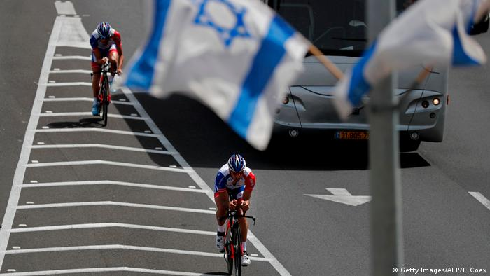 Radsport 2018 GIRO D'ITALIA in Israel (Getty Images/AFP/T. Coex)