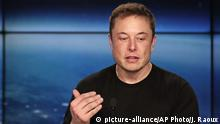Elon Musk, CEO SpaceX & Tesla Inc. (picture-alliance/AP Photo/J. Raoux)