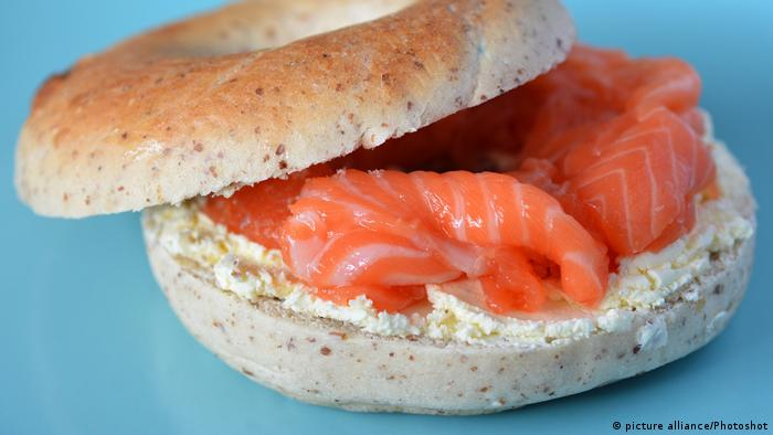 New York Lachs Bagel (picture alliance/Photoshot)