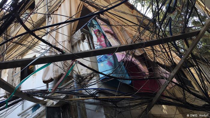 Один из домов палестинских беженцев в Ливане