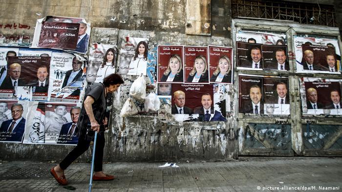Libanon Beirut vor den Parlamentswahlen