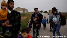 Griechenland Flüchtlinge auf der Landroute Türkei-Griechenland