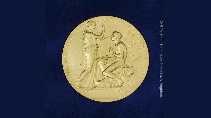 Nobel Prize for Literature: back of the medal