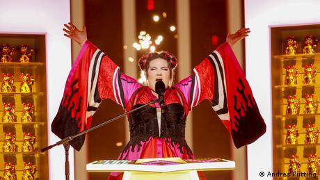 Israeli singer Netta at Eurovision 2018 rehearsals (Andres Putting)