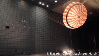 NASA Mars InSight Fallschirm