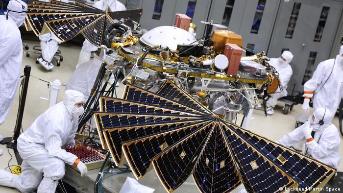NASA Mars InSight Solar Panel (Lockheed Martin Space)