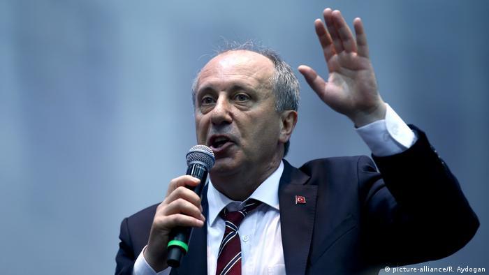 Türkei, Ankara: CHP verkündet Muharrem Ince als Präsidentschaftskandidat