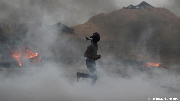 Proteste in Gaza Palästina (Reuters/I. Abu Mustafa)