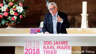 Deutschland Trier 200. Geburtstag von Karl Marx   Jean-Claude Juncker