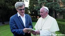 El Papa según Wenders