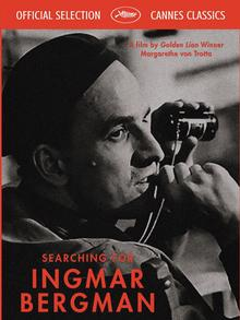 The poster for the film, 'Searching for Ingmar Bergman'