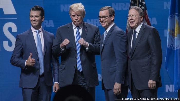 USA Donald Trump besucht NRA (picture-alliance/dpa/newscom/UPI/S. Flores)